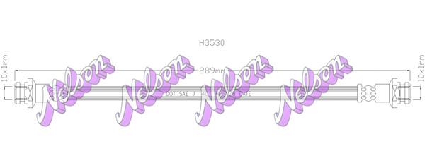 Flexible de frein BROVEX-NELSON H3530 (X1)