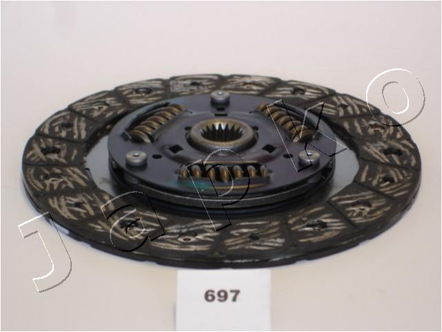 Disque d'embrayage JAPKO 80697 (X1)