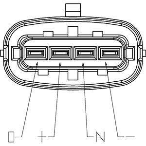Capteur, pression du tuyau d'admission HC-Cargo 182109 (X1)
