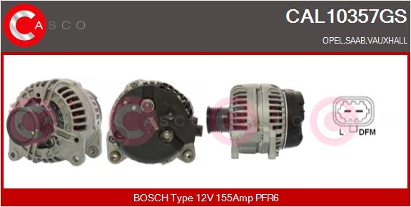 Alternateur CASCO CAL10357GS (X1)