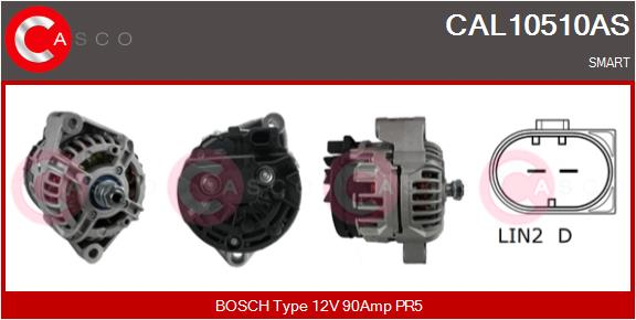Alternateur CASCO CAL10510AS (X1)