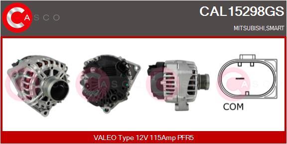 Alternateur CASCO CAL15298GS (X1)