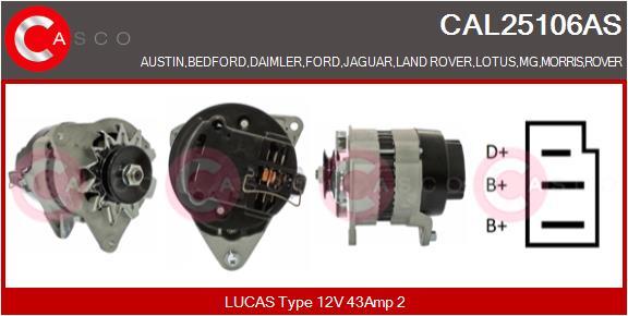 Alternateur CASCO CAL25106AS (X1)
