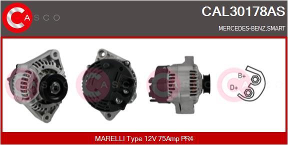 Alternateur CASCO CAL30178AS (X1)
