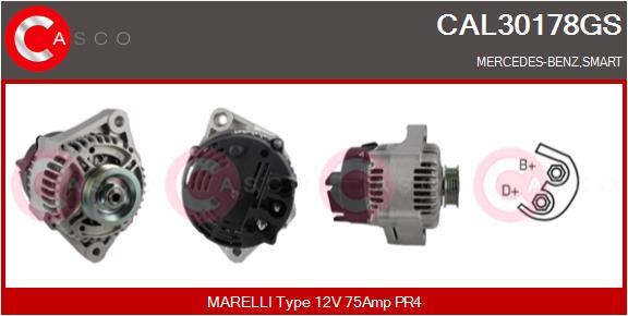 Alternateur CASCO CAL30178GS (X1)