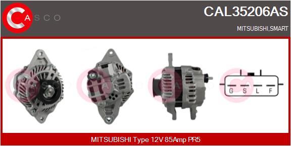 Alternateur CASCO CAL35206AS (X1)