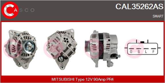 Alternateur CASCO CAL35262AS (X1)