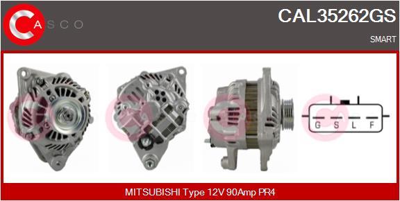 Alternateur CASCO CAL35262GS (X1)