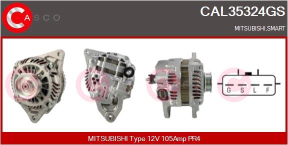 Alternateur CASCO CAL35324GS (X1)