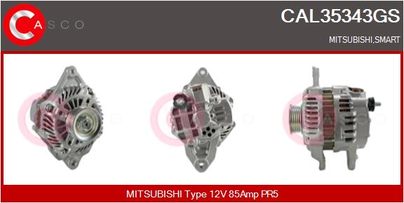 Alternateur CASCO CAL35343GS (X1)