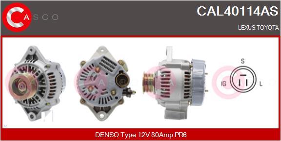 Alternateur CASCO CAL40114AS (X1)