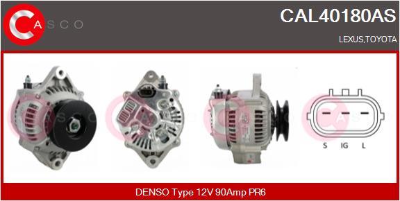 Alternateur CASCO CAL40180AS (X1)
