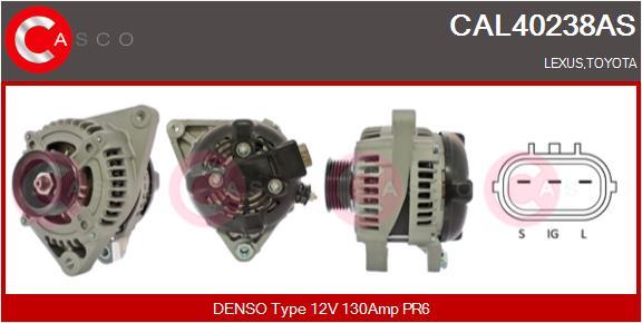 Alternateur CASCO CAL40238AS (X1)