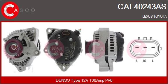Alternateur CASCO CAL40243AS (X1)