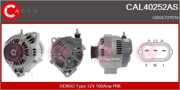 Alternateur CASCO CAL40252AS (X1)