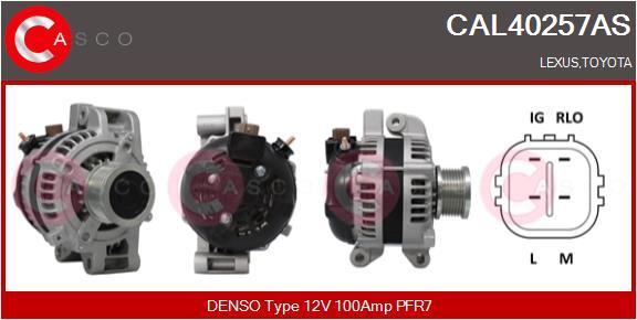 Alternateur CASCO CAL40257AS (X1)