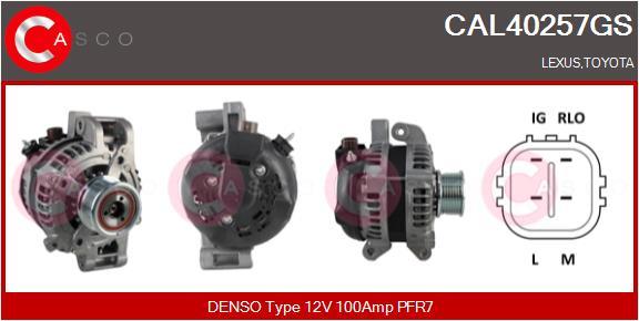 Alternateur CASCO CAL40257GS (X1)