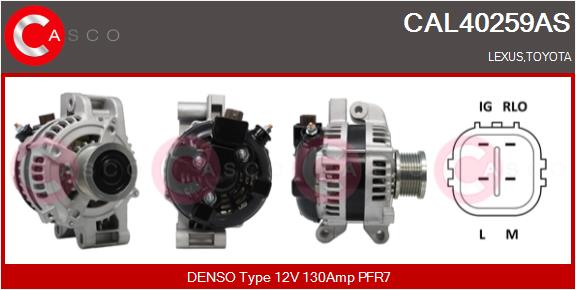 Alternateur CASCO CAL40259AS (X1)