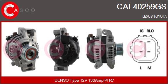 Alternateur CASCO CAL40259GS (X1)
