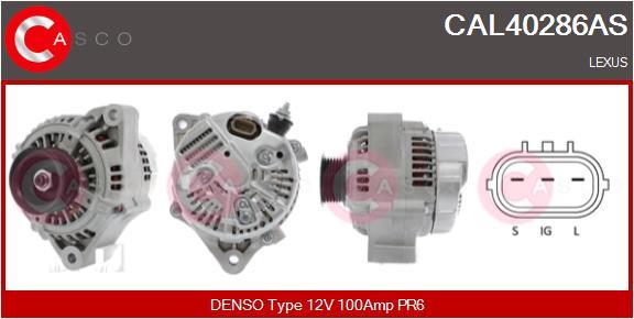 Alternateur CASCO CAL40286AS (X1)