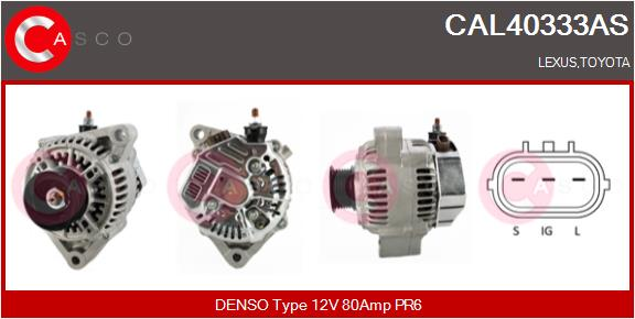Alternateur CASCO CAL40333AS (X1)