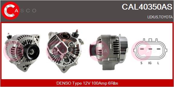 Alternateur CASCO CAL40350AS (X1)