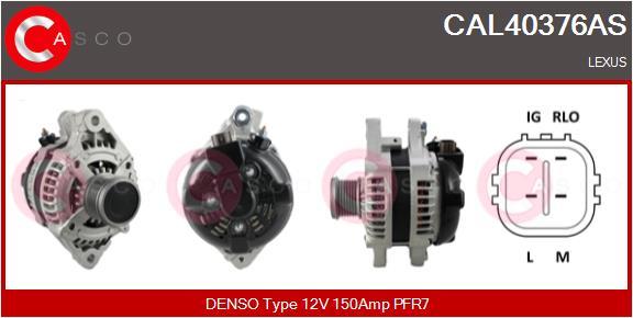 Alternateur CASCO CAL40376AS (X1)