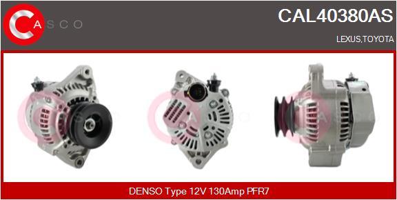 Alternateur CASCO CAL40380AS (X1)