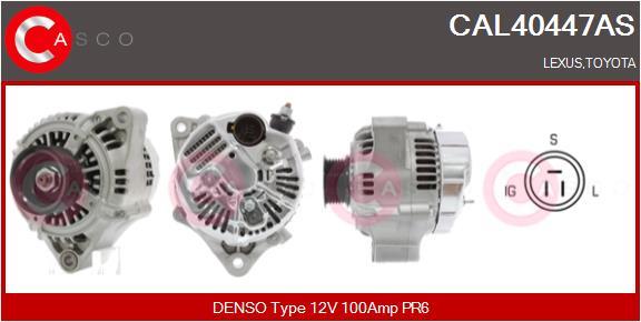 Alternateur CASCO CAL40447AS (X1)