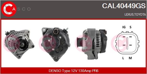 Alternateur CASCO CAL40449GS (X1)