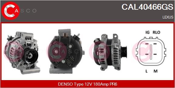 Alternateur CASCO CAL40466GS (X1)