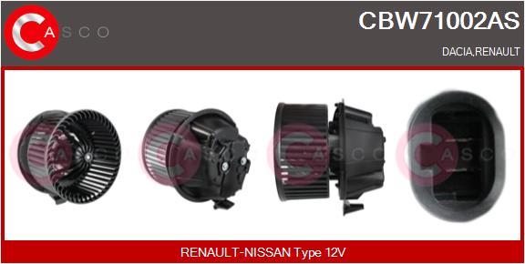 Chauffage et climatisation CASCO CBW71002AS (X1)