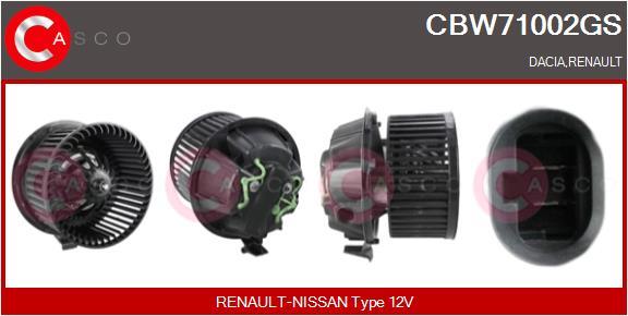 Chauffage et climatisation CASCO CBW71002GS (X1)
