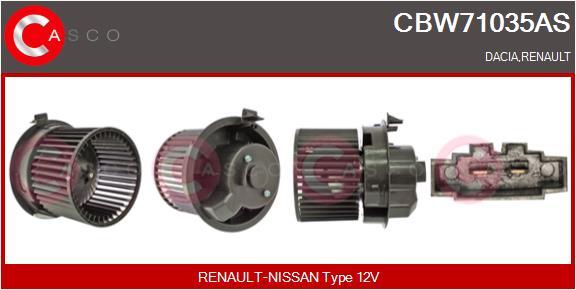 Chauffage et climatisation CASCO CBW71035AS (X1)