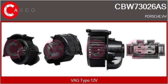 Chauffage et climatisation CASCO CBW73026AS (X1)
