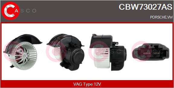 Chauffage et climatisation CASCO CBW73027AS (X1)