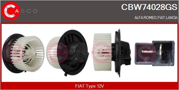 Chauffage et climatisation CASCO CBW74028GS (X1)