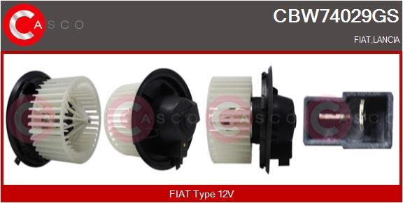 Chauffage et climatisation CASCO CBW74029GS (X1)