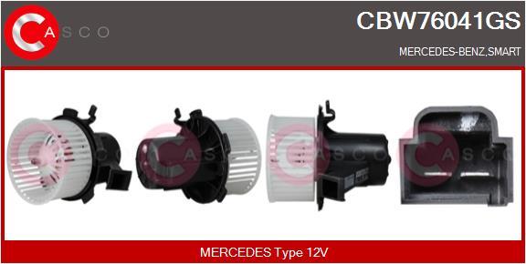 Chauffage et climatisation CASCO CBW76041GS (X1)