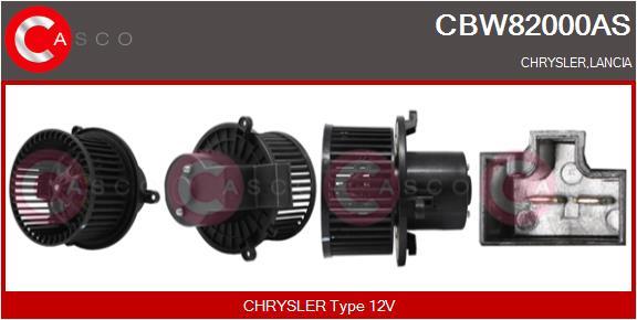 Chauffage et climatisation CASCO CBW82000AS (X1)