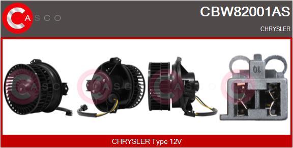 Chauffage et climatisation CASCO CBW82001AS (X1)
