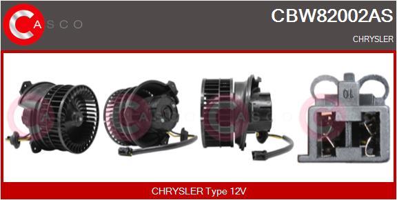 Chauffage et climatisation CASCO CBW82002AS (X1)