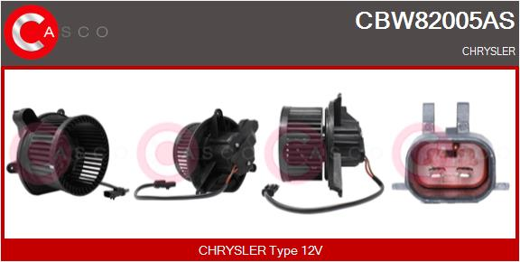 Chauffage et climatisation CASCO CBW82005AS (X1)