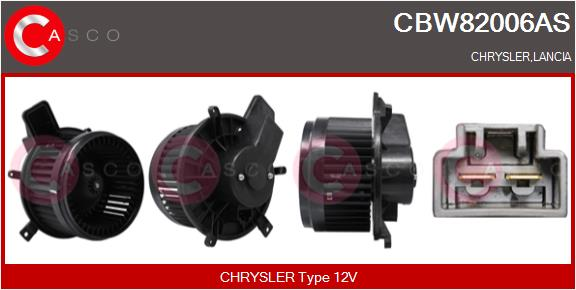 Chauffage et climatisation CASCO CBW82006AS (X1)