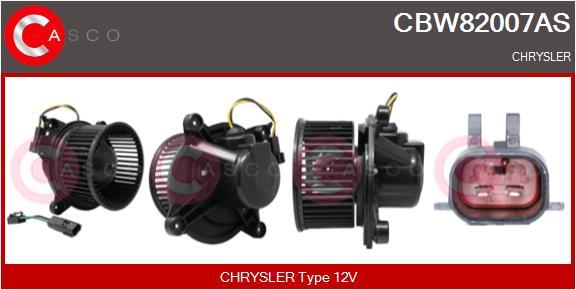 Chauffage et climatisation CASCO CBW82007AS (X1)