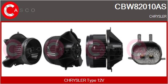 Chauffage et climatisation CASCO CBW82010AS (X1)