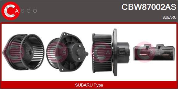 Chauffage et climatisation CASCO CBW87002AS (X1)