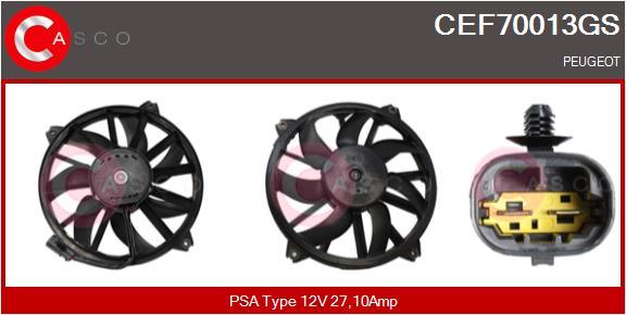Moteur de ventilateur refroidissement CASCO CEF70013GS (X1)