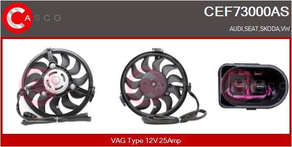 Moteur de ventilateur refroidissement CASCO CEF73000AS (X1)