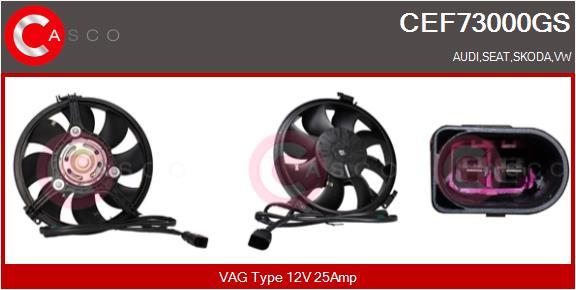 Moteur de ventilateur refroidissement CASCO CEF73000GS (X1)